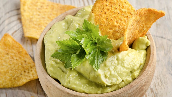 All you need for a good guacamole is avocados, salt and lemon or lime juice. But more adventuresome eaters can add more exotic ingredients.
