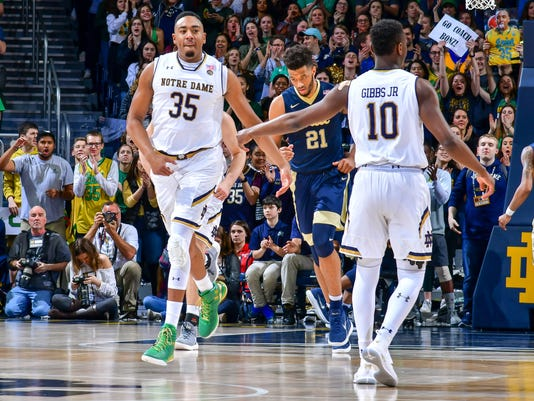 NCAA Basketball: Pittsburgh at Notre Dame