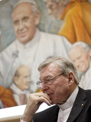 Cardinal George Pell has been charged in his native
