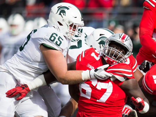 NCAA Football: Michigan State at Ohio State