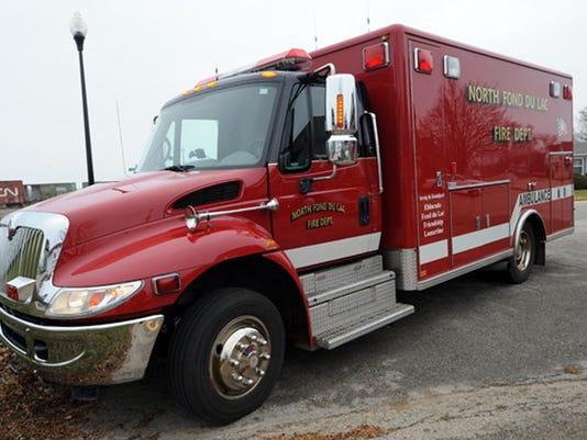 North Fond du Lac ambulance