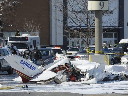 Canada Quebec Planes Crash (2)