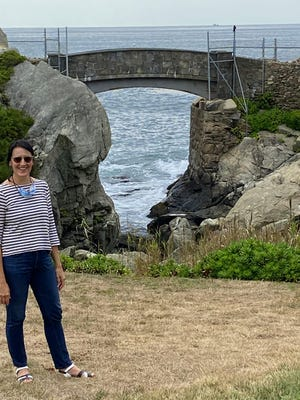 """Artist Melissa McGill will create her latest project, titled """"In The Waves,"""" at Rough Point in Newport."""