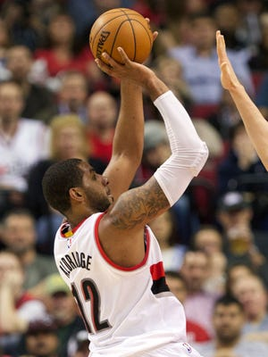 LaMarcus Aldridge and the Blazers have won four in a row.