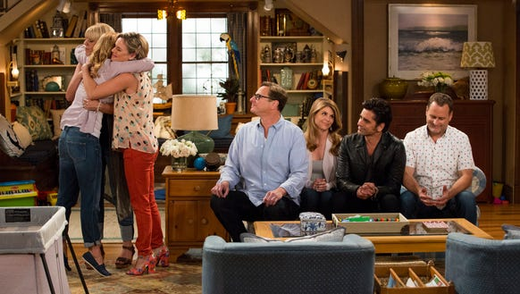 Fuller House. Candace Cameron Bure, Jodie Sweetin,