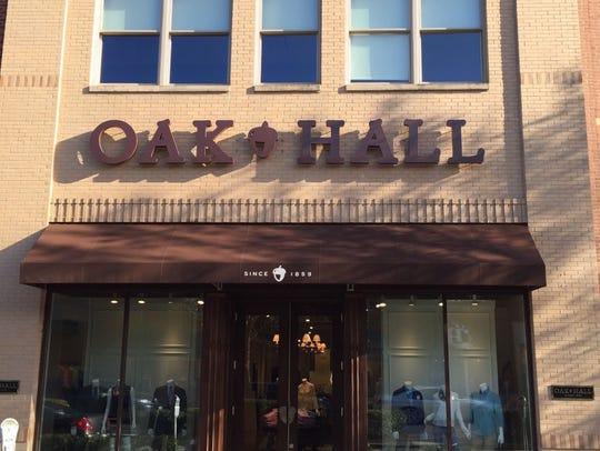 Memphis clothier Oak Hall is now open in Nashville