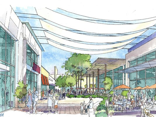 Let\'s rethink Estrella Falls mall in Goodyear in 2015