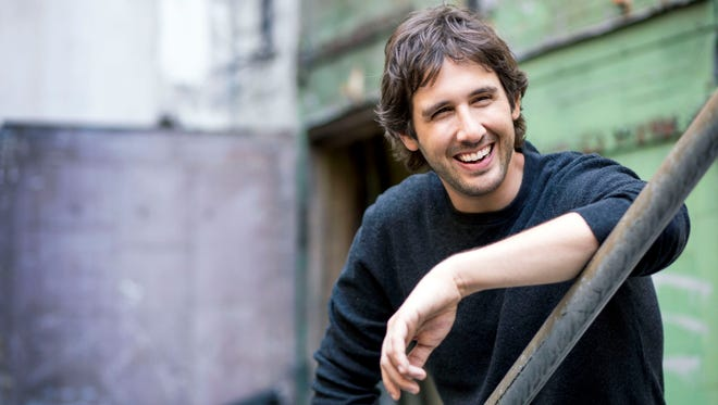 Singer Josh Groban will perform at the Murat Theatre at Old National Centre on Oct. 14, 2015.