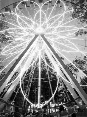 1979 Great Ferris Wheel at Six Flags Great Adventure.