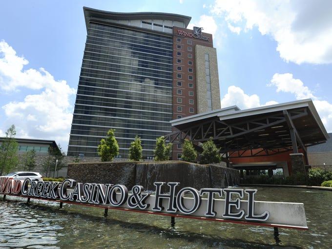 The Wind Creek Casino &  Hotel in Atmore.