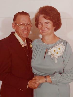 Charlie and Mavis Beaird celebrate 70th wedding anniversary.