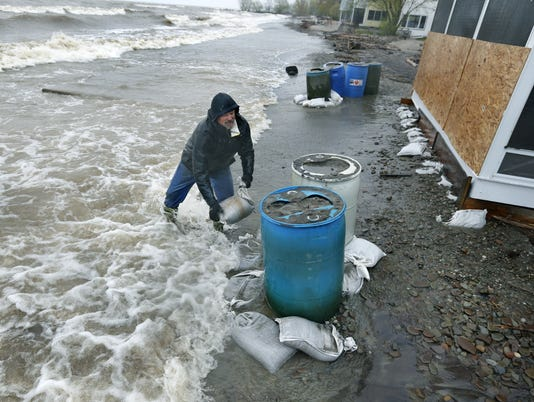 Lake Ontario flooding