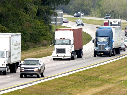 Interstate 95 in Fort Pierce. (FILE PHOTO)