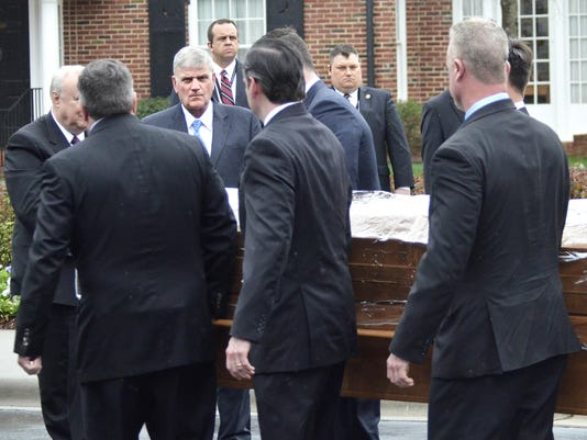 The story behind Billy Graham's casket and the prison inmates who made it