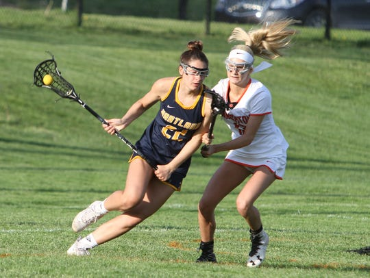 Elena Salazar (22) has helped Hartland win a seventh
