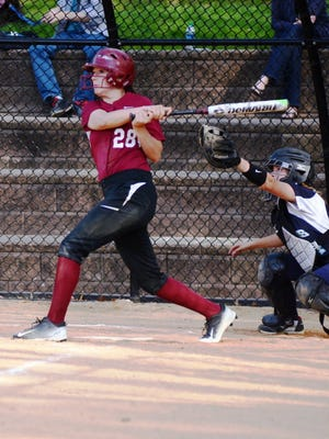 Kasey Coury was one of Bloomfield's first-team selections on Super Essex Conference squad.