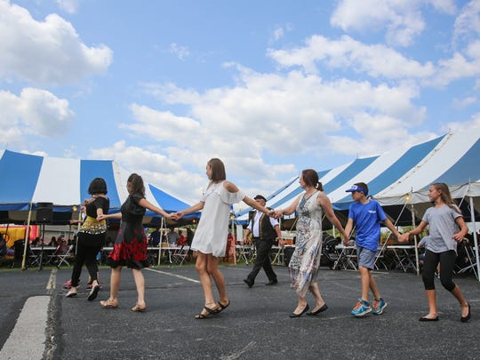 This year's Greek Festival in southwest Springfield will feature an expanded menu of Greek foods and a four-person chariot ride.