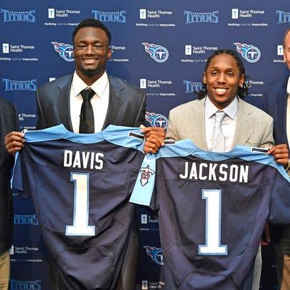 Titans introduce first-round draft picks, Western Michigan