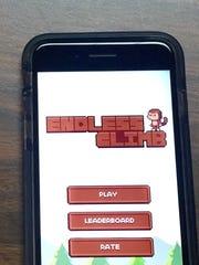 Endless Climb is an app created by Henderson teen Blake Bowling.
