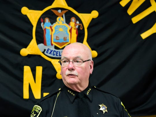 Broome County Sheriff David Harder, Binghamton High