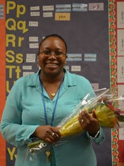 Iris Telfer teaches at Ellsworth Elementary School