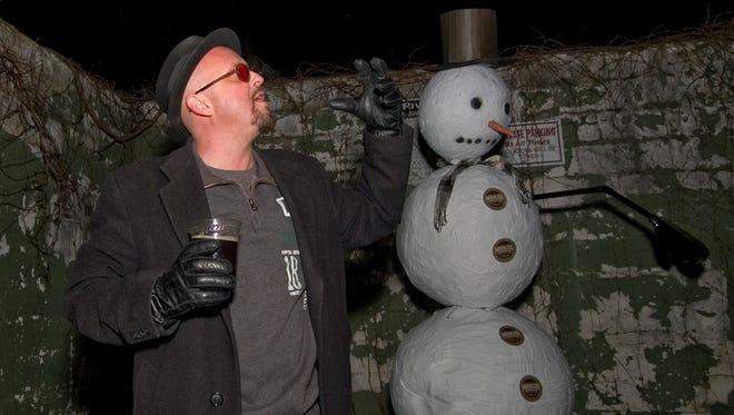 Mike Morgan prepares for Precipitation Retaliation 2014.