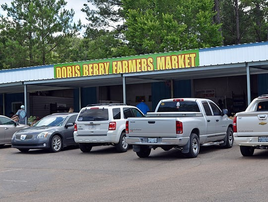 Doris Berry has moved her farmer's market from the
