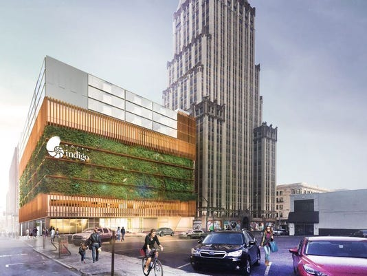 Hotel Indigo Project Will Transform Former Econolodge In Downtown Memphis Photo Brg3s Architects For Three P Partners