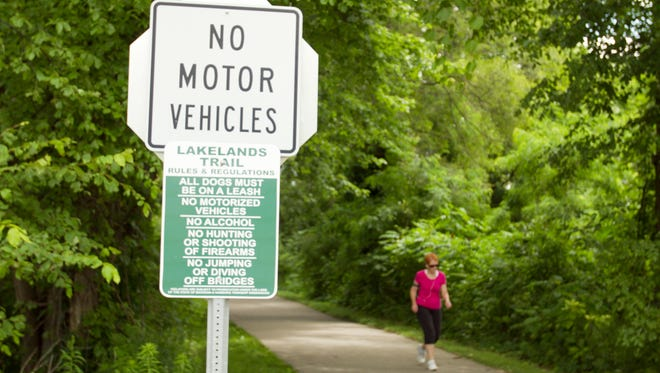 Park It on the Lakelands Trail on Sept. 27 will include a new 5K (3.1-mile) component.