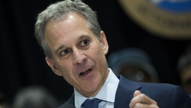 New York Attorney General Eric Schneiderman has resigned after four women accused him of physical abuse.