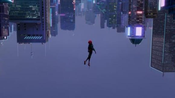 A still shot of the 'Spider-Man: Into The Spider-Verse'