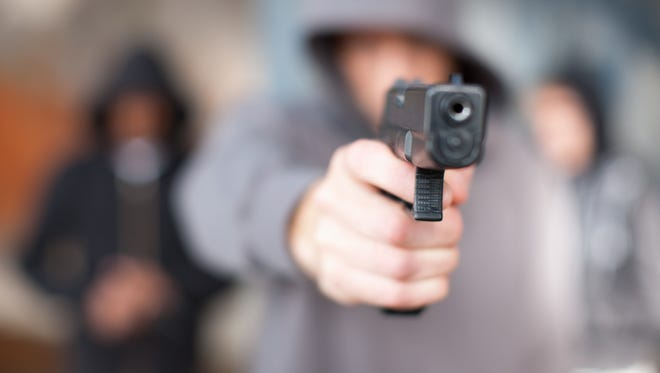 A Lafayette man fired one shot when he found himself outnumbered by a car full of people, according to Lafayette police.