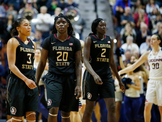 NCAA Womens Basketball: Florida State at Connecticut