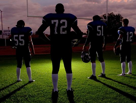 High school football cover