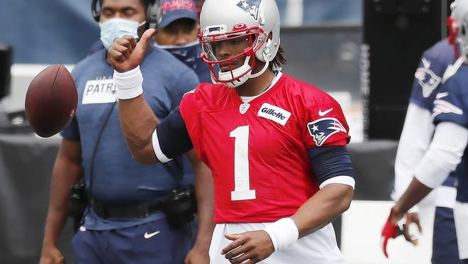 New England's Cam Newton is honored to be the first Black quarterback to suit up under center for the Patriots in Week 1.