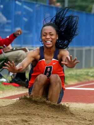 Blackman's Tanalya Gordon won three events at the Tri-Cities Classic track meet last weekend.