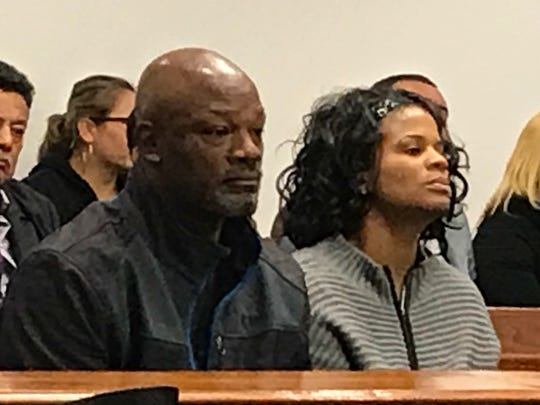Terry Harrison and his sister Sherese Harrison