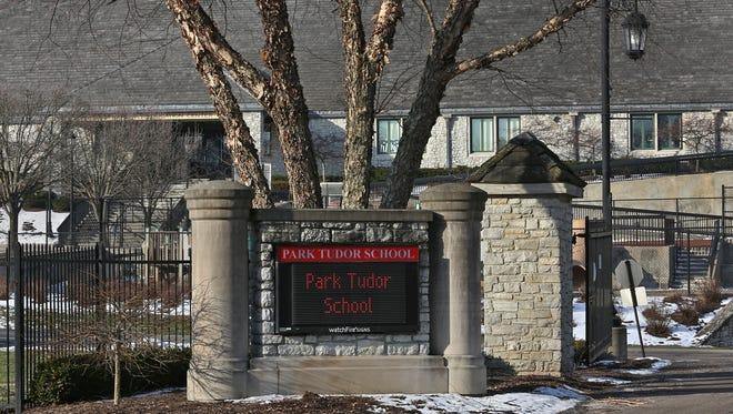 Park Tudor School, Monday, January 25, 2016.