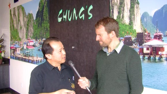 Inside Chung's Express