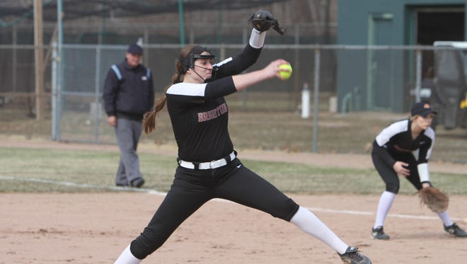 Brighton's Chloe Haskins struck out 23 in a 10-inning no-hitter against Onaway.