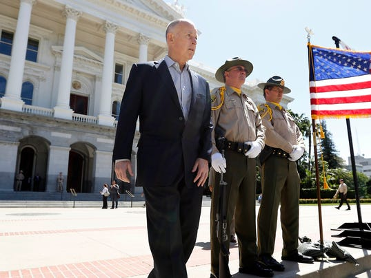 AP Jerry Brown Record Tenure