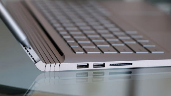 Microsoft Surface Book Performance Base Ports