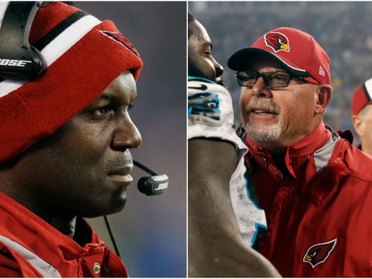 Todd Bowles and Bruce Arians