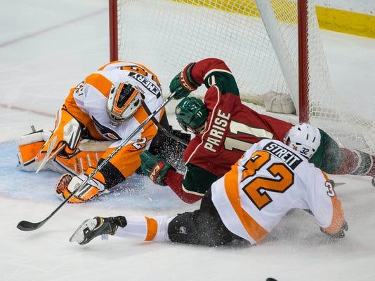 NHL: Philadelphia Flyers at Minnesota Wild