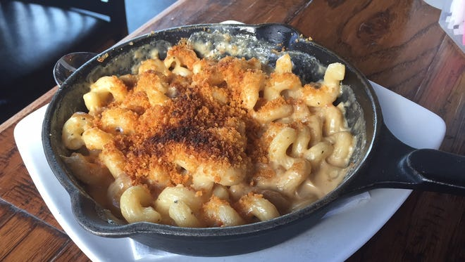 Mac and cheese with crumbled Grippo's from the Incline Public House in Price Hill.