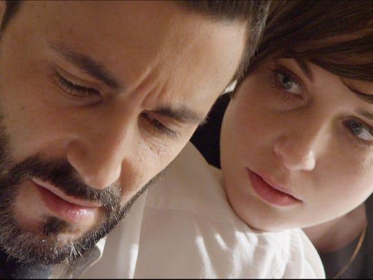 "Jason Cerbone and Shannon Marie Sullivan in ""Passaic."""