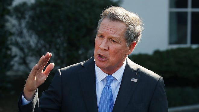 "In an appearance on NBC's ""Meet the Press"" on Sunday, March 12, 2017, Ohio Gov. John Kasich said the nation risks losing its ""soul"" if Republicans push through a health care plan that leaves millions with no insurance."