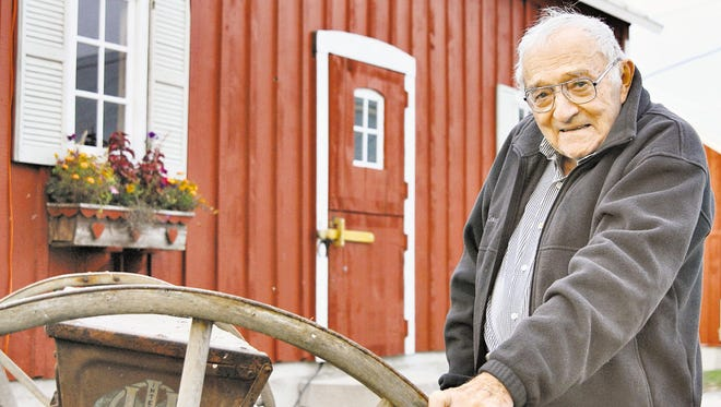 Norval Dvorak, a Manitowoc-area farmer whose life's work left a lasting legacy on agriculture around the globe, died Oct. 1, 2015, at the Felician Village senior community. He was 93.