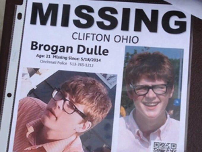 A missing flier for Brogan Dulle