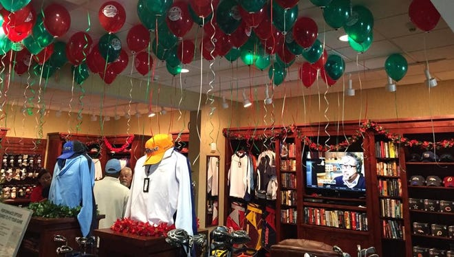 The Pro Shop at Underwood Golf Complex will have a Balloon Sale on Saturday with steep discounts and free light snacks.